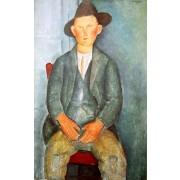 Modigliani - The Little Peasant