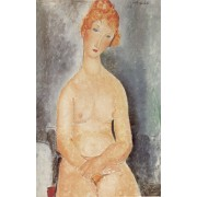 Modigliani - Seated Nude 2