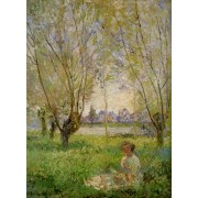 Monet - Woman Beneath a Willow