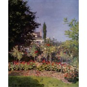 Monet - Garden in Flower