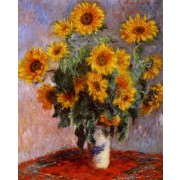Monet - Bouquet of Sunflowers