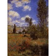 Monet - Path in the Ile Saint-Martin Vetheuil