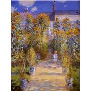 Monet - The Artists Garden at Vetheuil
