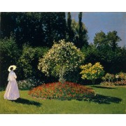 Monet - Jeanne-Marguerite Lecadre in the Garden