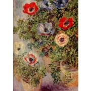 Monet - Still-Life with Anemones