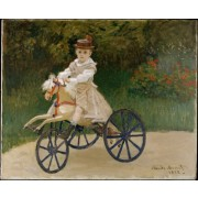 Monet - Jean Monet on His Horse Tricycle