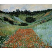 Monet - Poppy Field in a Hollow near Giverny