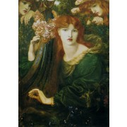 Rossetti - La Ghirlandata