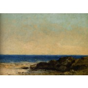 Courbet - Sea Coast in Normandy