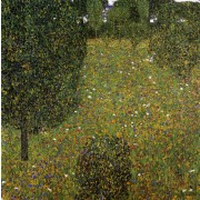 Klimt - Garden Landscape (Blossoming Meadow)