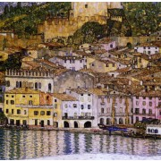 Klimt - Malcesine on Lake Garda