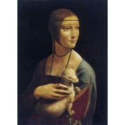 Da Vinci - Portrait of Cecilia Gallerani (Lady with an Ermine)