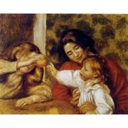 Renoir - Gabrielle, Jean and a Little Girl