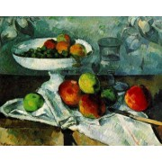 Cezanne - Still Life with Compotier