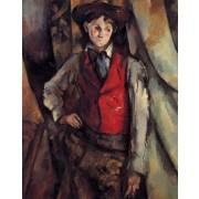 Cezanne - Boy in a Red Vest