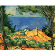 Cezanne - L' Estaque