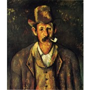 Cezanne - Man with a Pipe