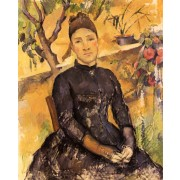 Cezanne - Madame Cezanne in the Conservatory