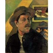Gaugain - Self Portrait with Hat