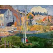 Cezanne - Breton Landscape