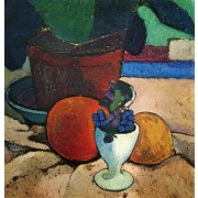 Becker - Flower Pot and Fruit