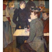 Lautrec - A Corner in the Moulin de la Galette