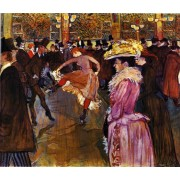 Lautrec - Dance at the Moulin Rouge