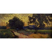 Van Gogh - Landscape at Twilight