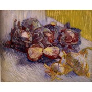 Van Gogh - Still Life with Red Cabbages and Onions