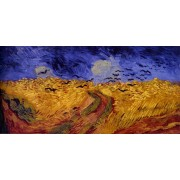 Van Gogh - Wheat Field Under Threatening Skies