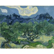 Van Gogh - Olive Trees with the Alpilles in the Background