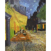 Van Gogh - Cafe Terrace on the Place du Forum, Arles, at Night