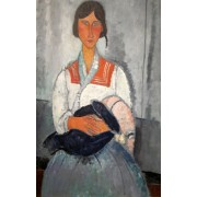 Modigliani - Gypsy woman with child