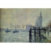 Monet - The Thames Below Westminster