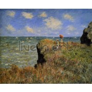 Monet - The Cliff Walk, Pourville