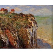 Monet - The Cliff at Dieppe