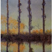 Monet - Four Trees