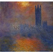 Monet - Houses of Parliament Stormy Sky