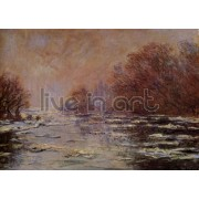 Monet - Ice Floes Near Vetheuil