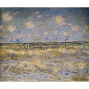 Monet - Rough Sea