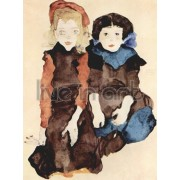 Schiele - Two Little Girls