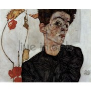 Schiele - Self Portrait, 1912