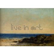 Courbet - Sea Coast in Normandy