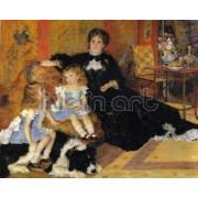 Renoir - Madame Georges Charpentier and Her Children