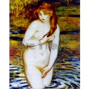 Renoir - The Bather (after the bath)
