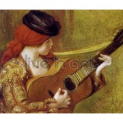 Renoir - Young Spanish Woman with a Guitar