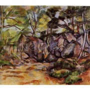 Cezanne - Tree on the Rock
