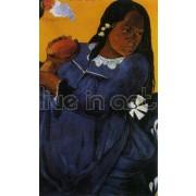 Gaugain - Woman with a Mango