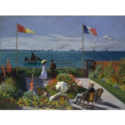 Monet - Garden at Sainte-Adresse