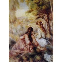 Renoir - Picking Flowers (In the Field)